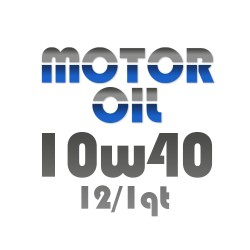 Motor Oil 10w40 12/1Qt