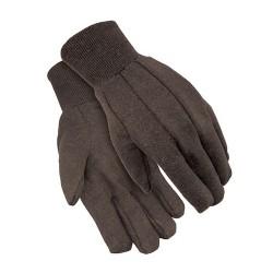 Gloves  BROWN JERSEY 8oz 1dz