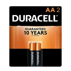 Duracell COPPERTOP  AA-2