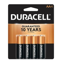 Duracell COPPERTOP  AA-4
