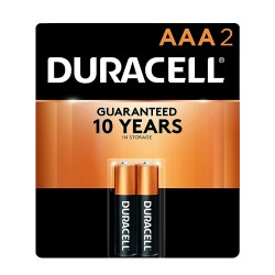 Duracell COPPERTOP  AAA-2