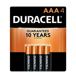 Duracell COPPERTOP  AAA-4