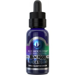 Blue Moon Hemp - CBD Three Quarter Moon - 30ml 300mg - BLACK KAT