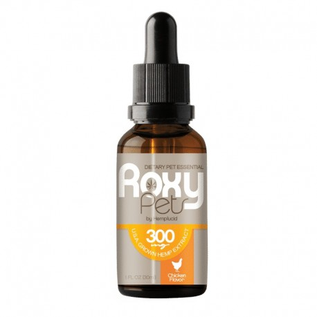 Roxy Pets 30ml 300mg Chicken Flavor for Dogs