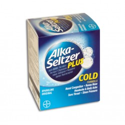Dispenser 25ct - Alka Selzer Plus Cold