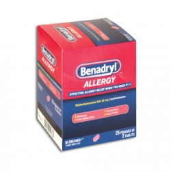 Dispenser 25ct - Benadryl