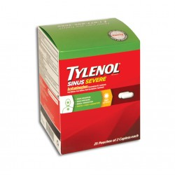 Dispenser 25ct - Tylenol Sinus