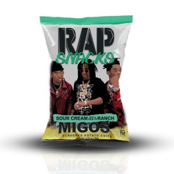 Rap Snack 24ct PP $1.49  - SOUR CREAM W/RANCH