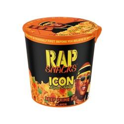 Rap Snack 12ct Ramen Cups  - Beef Prime Rib