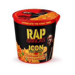 Rap Snack 12ct Ramen Cups  - Louisiana Hot & Spicy Chicken