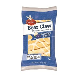 Clover Hill - Bear Claw  6ct - BLUEBERRY