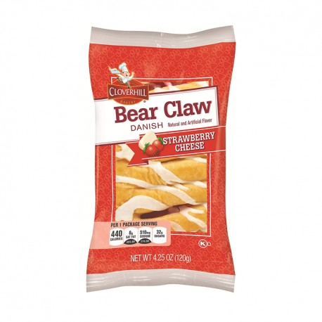 Clover Hill - Bear Claw  6ct - STRAWBERRY