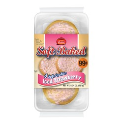 Carley's - PP $.99 - 12ct Soft Baked Cookies - ICED STRAWBERRY