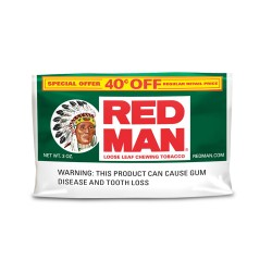 Red Man 3 oz. Pouch $.40 OFF