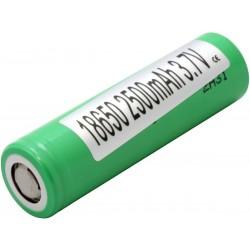 Samsung 25R 18650 - 2500 mah battery (single unit)