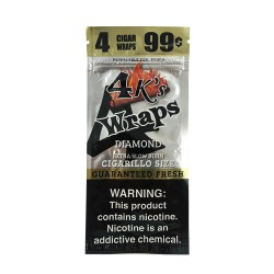 Four Kings 30ct Wraps 4/$.99 - DIAMOND