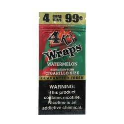 Four Kings 30ct Wraps 4/$.99 - WATERMELON