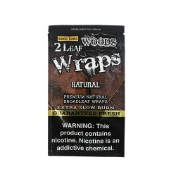 Sweet Woods Leaf Wraps 30/2ct - NATURAL