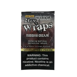 Sweet Woods Leaf Wraps 30/2ct - RUSSIAN CREAM
