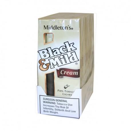 Black & Mild 10/5pk  -  CREME