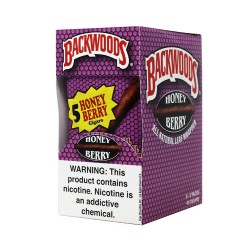 Backwood 5pk - Honey Berry