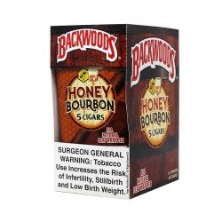Backwood 5pk - Honey Bourbon