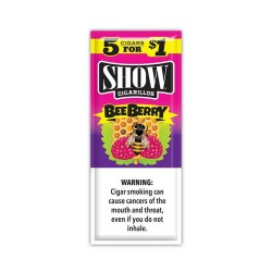 Show Spiral 15ct Cigarillos 5/$1.00 - BEE BERRY