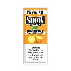 Show Spiral 15ct Cigarillos 5/$1.00 - PINEAPPLE BUZZ
