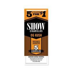 Show Spiral 15ct Cigarillos 5/$1.00 - OG KUSH