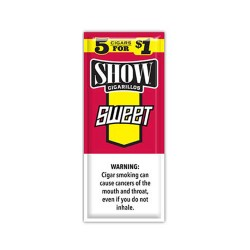 Show Spiral 15ct Cigarillos 5/$1.00 - SWEET