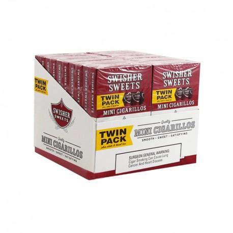 Swisher Mini 20/6ct Twin Pack  - SWEET
