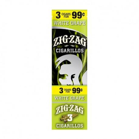 Zig Zag 15ct Cigarillo 3/$.99 - White Grape