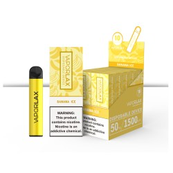 VAPORLAX _10CT_6.5ml 5%  -  BANANA ICE