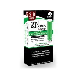 21ST CENTURY Smoke Express Cartridges MENTHOL 3ct