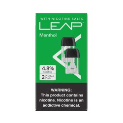 LEAP Pods 5/2pk 1.5ml 4.8mg - MENTHOL