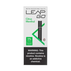 LEAP GO 5pk 1.25ml 5mg - CITRUS MENTHOL