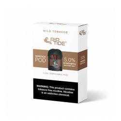 RIP TIDE Pods 5/1pk 1.4ml 5.0% - WILD TOBACCO