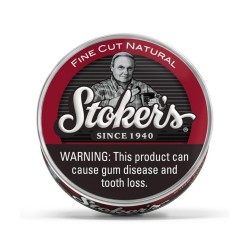 Stoker's ROLL  -   Fine Cut  NATURAL 5/1.2oz Cans