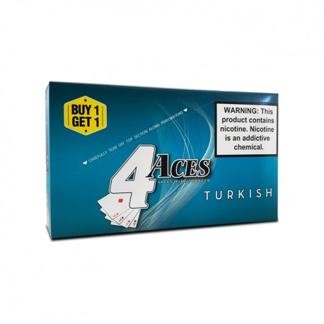 4 Aces Pipe Tobacco B1G1 Pouches - Turkish Blend
