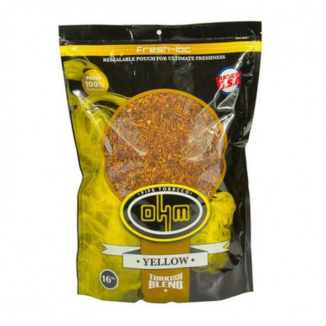 OHM 16oz bag - Turkish Yellow