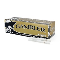 Gambler King Tube 5/200ct  GOLD