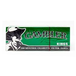 Gambler King Tube 5/200ct  MENTHOL