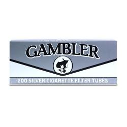 Gambler King Tube 5/200ct  SILVER