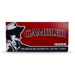 Gambler 100's Tube 5/200ct  REGULAR