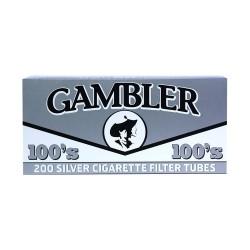 Gambler 100's Tube 5/200ct  SILVER