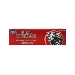 Bull Durham Tubes - King Regular 5/200ct