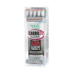 HERBAL CLEAN QCARBO 20oz w/5 Tablets - CRAN-RASPBERRY