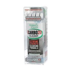 HERBAL CLEAN QCARBO 20oz w/5 Tablets - LEMON LIME