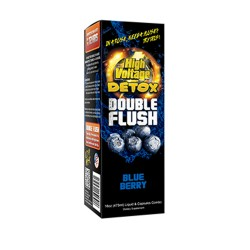 HIGH VOLTAGE DETOX DOUBLE FLUSH  -  BLUE BERRY