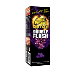 HIGH VOLTAGE DETOX DOUBLE FLUSH  - ACAI GRAPE